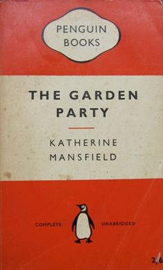 katherine mansfield, the garden party