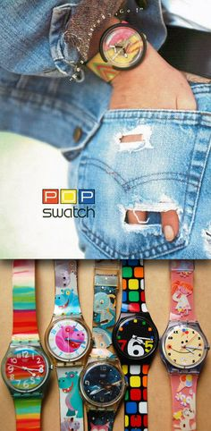 The Swatch brand was launched in 1983.
