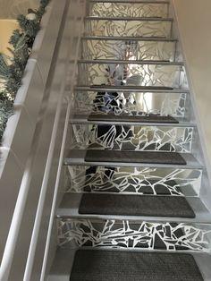 Mirror mosaic stairs