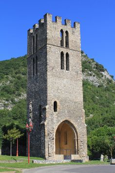 France - Tarascon-sur-Ariège, Saint-Michel tower