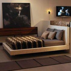 Concrete Platform Bed