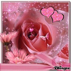 Discover & share this Blingee GIF with everyone you know. GIPHY is how you search, share, discover, and create GIFs. Flowers Gif, Love Flowers, My Flower, Beautiful Flowers, Imagenes Gift, Animated Heart, Glitter Gif, Love You Images, Glitter Pictures