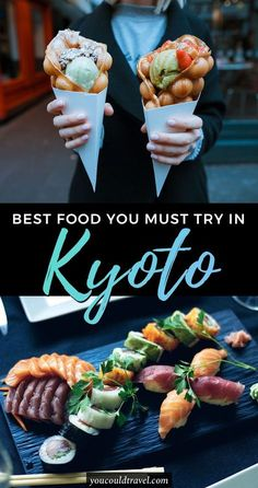 The Best Kyoto Food You Need to Try - Wondering what to eat in Kyoto? Check out our complete list of Japanese dishes you should try during your Kyoto trip. Plus bonus restaurant recommendations in Kyoto. japan The Best Kyoto Food You Need to Try Japan Travel Guide, Asia Travel, Tokyo Travel, Eastern Travel, Japan Guide, Wanderlust Travel, Japanese Dishes, Japanese Food, Traditional Japanese