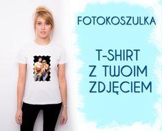 T-shirt damski ze zdjęciem fotokoszulka TWOJE FOTO