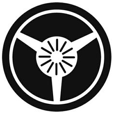 丸に三つ扇紋 FAN