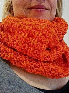 Helmineule by me: Oranssi tuubihuivi neuloen Knitting, Crochet, Lace, Crafts, Fashion, Breien, Moda, Manualidades, Tricot