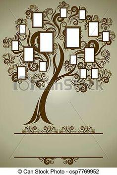 Family tree for wall