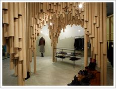 Really nice use of the paper tubes