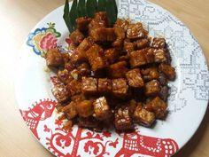 Resep Tempe Orek with Sambal Bawang Bu Rudy