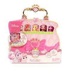 pawfect purse, purse, disney, disney princess, palace pets, mini, play, fun, cute, tiny, perfect