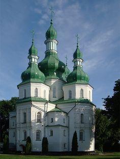 Troitska Church in Hustinskiy Monastery - Priluki, Chernihivska