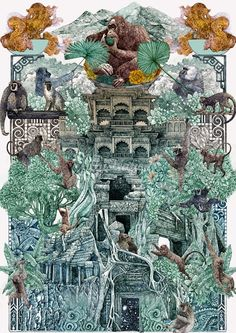 jungle-book-illustration.jpg (650×919)