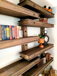 Learn how to build these giant pegboard shelves with this in-depth tutorial and lots of pictures. Love that it's adjustable! {Reality Daydream}