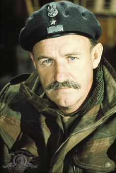 A Bridge Too Far ~ Gene Hackman portrayed Stanisław Franciszek Sosabowski CBE (8.5.1892|25.9.1967) WWII Polish general. Fought in the Battle of Arnhem 'Operation Market Garden' as commander of the Polish 1st Independent Parachute Brigade.