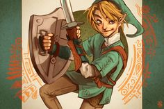 Legend of Zelda Artwork by selene231