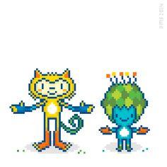 I really love the Rio 2016 mascots design.