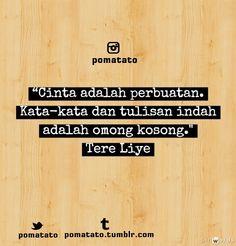 Cinta   Tere Liye.