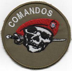 PORTUGAL PORTUGUESE COMANDOS COMMANDOS SPECIAL FORCES PATCH