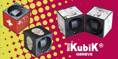 Limited Edition aluminium watch winders from Swiss Kubik 2015