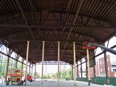 Bowstring Truss Repair By Wooden Roof Structures, Inc. ~ Chicago, IL