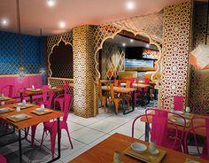 NS Studios designed the Interiors for my favorite Indian Restaurant ...