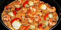 Shrimps in chermoula sauce, easy and quick recipe Shrimp Recipes, Fish Recipes, Quick Recipes, Keto Recipes, Risotto, Sauteed Shrimp, Paella, Bon Appetit, Food Dishes