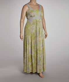 Take a look at this Limelight Maxi Dress - Plus by Jessica Simpson Collection on #zulily today!