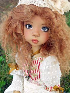 Beautiful doll by Kaye Wiggs Clay Dolls, Bjd Dolls, Pretty Dolls, Beautiful Dolls, Realistic Baby Dolls, Daisy Mae, Real Doll, Doll Maker, Custom Dolls