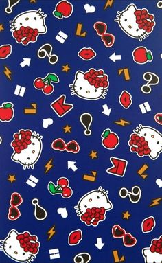 Hello Kitty Backgrounds, Sanrio, Snoopy, Wallpaper, Friends, Pattern, Fun, Fictional Characters, Animated Cartoon Characters