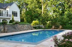 52 best rectangle pools images country pool rectangle for Pool design northern virginia
