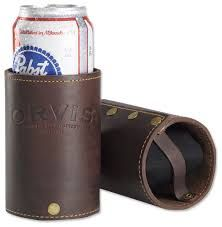 Image result for leather koozie