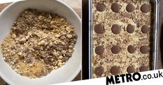 One mum shared her easy recipe. Healthy Desserts, Fun Desserts, Delicious Desserts, Baileys Fudge, Baking Recipes, Cake Recipes, Malteser Cake, Chocolate Buttons, Digestive Biscuits