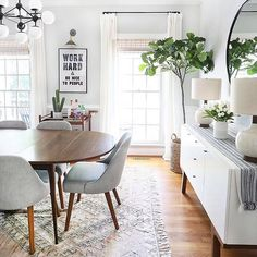 5 Ways to Add Style & Charm to a Home Sunny Circle Studio Dining Room Design Add Charm circle home Studio style sunny ways Dining Table Design, Dining Room Table, Living Comedor, Dining Room Inspiration, Traditional House, Home Remodeling, Kitchen Decor, Sweet Home, Room Decor