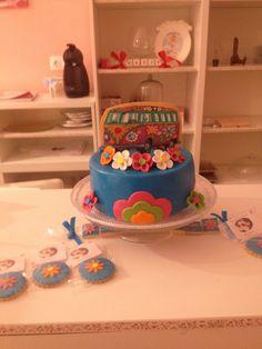 Tarta Hippie de Cumpleaños