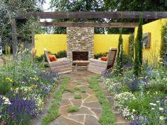 Summer+Flower+Garden | Summer in the Garden - Show Garden - RHS Hampton Court Palace Flower ...