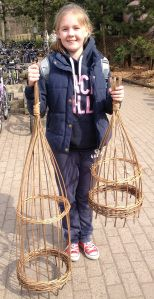 Willow weaving garden structures