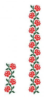 Poze FL177 Cross Stitch Boarders, Cross Stitch Designs, Cross Stitch Charts, Cross Stitching, Cross Stitch Patterns, Russian Cross Stitch, Cross Stitch Rose, Cross Stitch Flowers, Embroidery Hoop Art