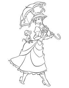 Disney Målarbilder för barn. Teckningar online till skriv ut. Nº 109