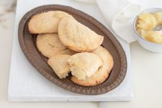 When chocolate chip cookies just won't do, try this delightfully tropical pineapple turnover and cookie recipe. Pineapple Pie, Pineapple Cookies, Recipe For Sesame Cookies, Roasted Beets And Carrots, Sugar Dough, Turnover Recipes, Cookies From Scratch, Filled Cookies