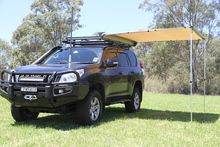 Savannah 2.5m x 2m Awning - This is what it would look like on the Prado but I'm thinking longer term (Patrol) cheap as $179.00