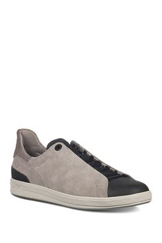 Joe's Jeans Joe Papa Low Top Sneaker In Stone/blac Suede Sneakers, Casual Sneakers, Joes Jeans, Lace Up, Nordstrom, Slip On, Sporty, Leather, Style