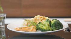 Zalmfilets met broccoli en rijstnoedels | VTM Koken