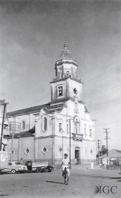 Igreja matriz de São José dos Campos suuuuper old pic! I was born in that city!
