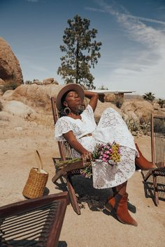 Rockbound Oasis Retreat – Joshua Tree – Locks and Trinkets Life Is Beautiful, Beautiful People, Fashion Photography, Modeling Photography, Black Girl Aesthetic, Black Girl Magic, Black Women, Casual, Photoshoot