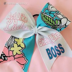 Cheer bow of the day