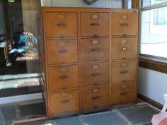 $1250 oak file cabinet