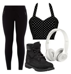 """""""Untitled #144"""" by reina-xo on Polyvore featuring Timberland and Beats by Dr. Dre"""