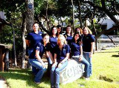 eESI Ladies posing at the eESI Rock!