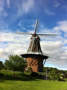 Tour a historic windmill from the Netherlands, take in beautiful gardens and visit quaint shops.