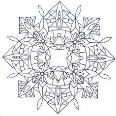 mandalas to print and color | Mandala pattern 02 by Tiger-tyger